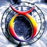 Astrología: tauro stock de ilustración