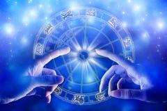 Astrología y amor Fotos de archivo libres de regalías