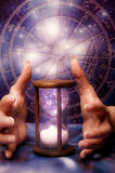 Astrología y tiempo cósmico Fotografía de archivo libre de regalías