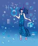 astrologa charakteru znaka taurus zodiak Obraz Royalty Free