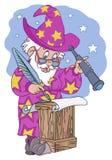 astrologer ilustração do vetor