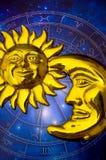 astrologi arkivbild