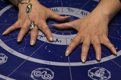 astrologi Royaltyfri Fotografi