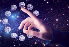 Astrologi Arkivbilder