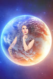 Astrologi horoskop Royaltyfri Foto