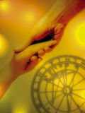 Astrologia e amor Fotografia de Stock Royalty Free