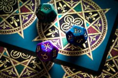 Astrologia e destino fotografia de stock