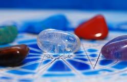 Astrologia e pedras Fotografia de Stock Royalty Free