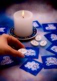 Astrologia e runes Fotografia de Stock Royalty Free