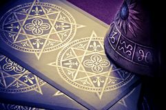 Astrologia e tarots Imagem de Stock Royalty Free