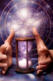 Astrologia e tempo cosmico fotografia stock libera da diritti