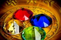 Astrologia ed elementi Fotografia Stock Libera da Diritti