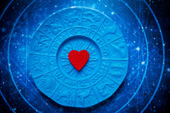 Astrologia i miłość Obraz Stock