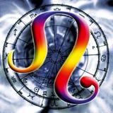 astrologia lew ilustracja wektor