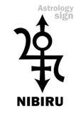 Astrologia: Pianeta orfano NIBIRU Fotografie Stock