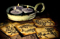 astrologia stara Zdjęcie Royalty Free