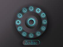 astrological символы Стоковая Фотография