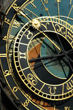 Astrological clock Royalty Free Stock Photography