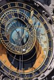Astrological clock Royalty Free Stock Photo