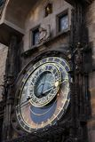 Astrological clock Stock Photos