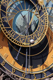 Astrological clock Stock Images