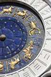 Astrological clock Stock Photo