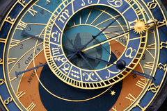Astronomical clock in Old Town Square, Prague Stock Photos