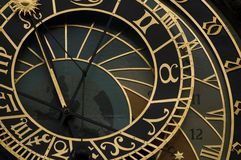 Astrological clock in Prague Stock Photography
