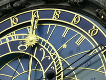Astrological clock. Prague. Close up of astrological clock in Prague Royalty Free Stock Photography