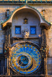 Astrological clock in prague, Czech Republic Royalty Free Stock Image