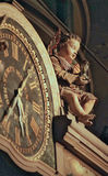Astrological clock in Strasbourg Cathedral Stock Photo