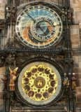 Astrological Clock Tower, Old Tower Square, Prague, Czech Republic stock image