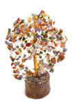 Astrological gem tree Royalty Free Stock Image