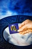 Astrological sign Scorpion Royalty Free Stock Photography