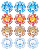 Astrological signs Royalty Free Stock Image