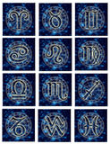 Astrological signs stock illustration