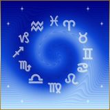 Astrological Wheel royalty free stock images