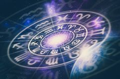 Free Astrological Zodiac Signs Inside Of Horoscope Circle Royalty Free Stock Photo - 110261015
