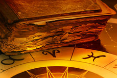 Astrologie royalty-vrije stock afbeeldingen