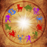astrologie stock foto's