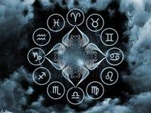 Astrologie-Anordnung
