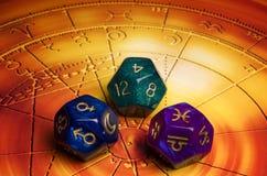Astrologie en lot Royalty-vrije Stock Foto's
