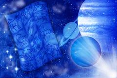 Astrologie en planeten vector illustratie