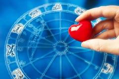 Astrologie et amour Photographie stock libre de droits
