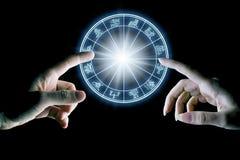 Astrologie et amour Images libres de droits