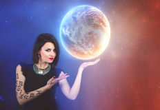 Astrologie, horoscope image stock