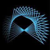 Astrologie réglée de pentagone étoilé d'étoile de modèle Image stock