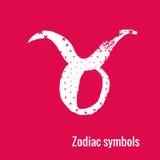 Astrologie-Zeichen des Tierkreis Stiers Stockbild