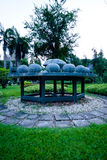 Astrologiemonument in Lumpini-Park, Bangkok Lizenzfreies Stockbild
