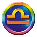 Astrologiezeichenwaage Lizenzfreies Stockfoto
